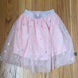Pink Stars Tutu Skirt